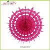 Ventiladores do papel do floco de neve da cor-de-rosa quente