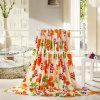 Heiße Verkaufs-neue Art-korallenrote Vlies-Decke