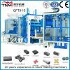 Machine de fabrication de brique Qt9-15 concrète hydraulique multifonctionnelle