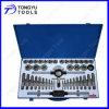 45PCS Metric Size Taps и комплектный штамп в Metal Box