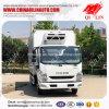 Euro 4 Emissie 123HP koelde Bevroren Vrachtwagen