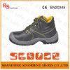 Especificação das sapatas de segurança da boa qualidade