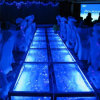 O concerto DJ monta o estágio de vidro removível de alumínio da piscina do casamento móvel interno do evento