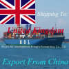 Taxas do transporte do remetente do transporte do mar das companhias da logística de nós China ao Reino Unido