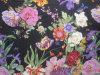 Satin en soie Print dans Flower Pattern
