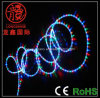 Changement de couleur de DEL Decoration Rope Light 3 Wire pour Christmas