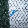 中国の工場Galvanized/PVC上塗を施してあるチェーン・リンクの塀のダイヤモンドの金網