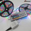 GB del regulador LED de luz de tira flexible con la fuente del clave 44 y de alimentación 12V
