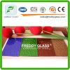 vidrio de ventana de cristal de bronce de los muebles del vidrio modelado de 3.5m m Nashiji