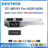 2 GPS DVD van de Auto van DIN Auto Radio voor Schittering H220 H230