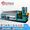China fêz a W11 6*1500mm a máquina de rolamento manual mecânica universal do metal de folha