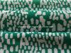 Tela blanca verde de la impresión del punto para la ropa de deportes (HD1401100)