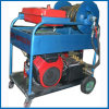 Motor de alta presión de la patrulla de la máquina de la limpieza del dren de la alcantarilla