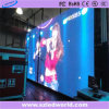 Visualización de LED a todo color de alquiler de interior P4.81 que hace publicidad del panel de la pantalla