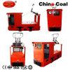 Cjy7/6gp locomotiva de mineração subterrânea elétrica do trole de 7 toneladas