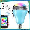 Neue intelligente LED-Lampe mit Bluetooth Lautsprecher