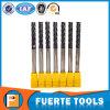 4 herramientas del molino de extremo del torno del CNC de las flautas para el proceso duro del metal