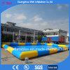 Il grande raggruppamento gonfiabile per l'acqua gioca la piscina gonfiabile