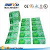 Escritura de la etiqueta del embalaje del abrigo del encogimiento del PVC de la aduana de China para la botella