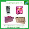 Sacchetto di acquisto di lusso all'ingrosso della carta da stampa con il sacchetto dell'estetica di marchio