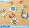 Pin del risvolto dell'emblema del blu marino dell'esercito del seno del distintivo dello smalto del pezzo fuso