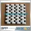 Mattonelle blu/colore della miscela/di bianco marmo di mosaico per il rivestimento della parete