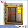 Porte en verre trempé en aluminium