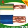 Câble d'alimentation de cuivre à un noyau de câble isolé par PVC