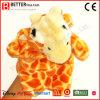 Marionnette de main animale bourrée de giraffe de peluche pour des gosses/enfants