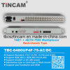 Fibre (TBC-6480UP4F-75-AC/DC)への16 E1 Pdh Multiplexer E1 G. 703 (BNC/RJ45)