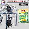 Máquina soplada Dxdk-800 del envasado de alimentos con el pesador de 10 cabezas