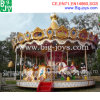 Carrousel 2016 de parc d'attractions