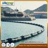 Раздувное резиновый заграждение сдерживания, резиновый нефтяной бум
