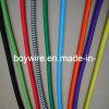 Декоративная изолированная проволока ткани картины кабеля, кабель с оплеткой тканья (BYCOT)