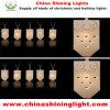 전통 휴일 LED 훈장 빛