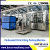 Máquina de rellenar del refresco carbónico automático completo del surtidor de la fábrica