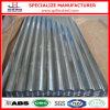Placa de acero acanalada galvanizada semidura de ASTM A653m G40