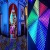 Grado Ineteractive Dance Floor del IP del suelo de danza del disco de la visualización de LED del RGB P6.25 IP65