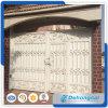 Diseños principales lo más tarde posible usados de la puerta del hierro labrado de la casa hermosa de Dubai/diseño de acero de la puerta de la calzada