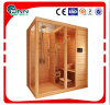 2-3 Person Wooden Mini Home Sauna und Dry Steam Sauna Raum