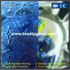 Azul flora vidrio laminado