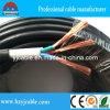 Le jumeau de cuivre normal de gaine de PVC d'isolation de PVC de conducteur creuse 3 faisceaux 4 faisceaux 0.5mm2 0.75mm2 1.0mm2, double jupe, les faisceaux 2cores 3 4 faisceaux, câble électrique