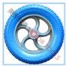 3.25-8 Голубые колеса велосипеда пены PU с оправой PP
