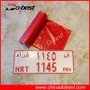 Vehicle Number Plate를 위한 열 Transfer Film