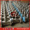 Válvula de globo de sello de acero forjado recto Tipo de presión