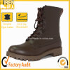 Brown Leather British Military Combat Boots