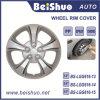 Adornado 13  14  15  cubiertas de plata del borde de la rueda del ABS