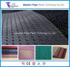 Pied plat de couvre-tapis de véhicule de tapis de bobine de PVC avec le support de grève