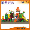Engenharia LLDPE, Galvanized Steel Material Outdoor Playground Equipment para Kids