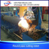 Fabricante redondo do profissional da máquina de estaca do CNC da câmara de ar da tubulação do grande diâmetro do ISO do Ce